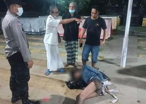 Nusabali.com - kepergok-curi-sesari-dihakimi-massa-di-pura