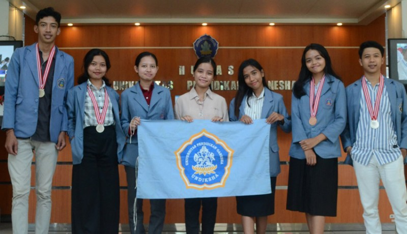 www.nusabali.com-undiksha-sabet-6-medali-di-ajang-ipitex-2021-bangkok