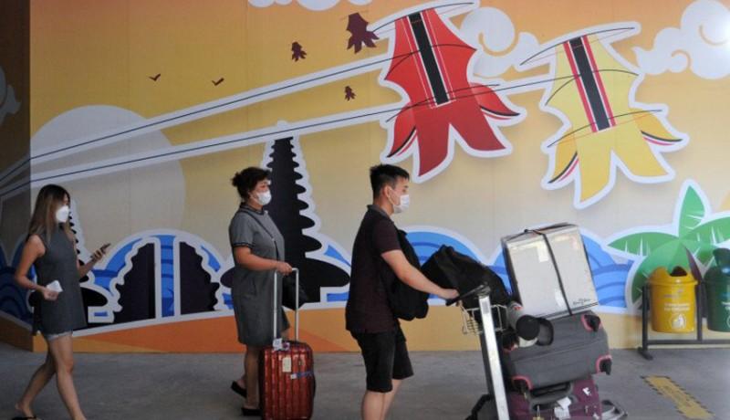 www.nusabali.com-posko-terpadu-larangan-mudik-bandara-ngurah-rai-siagakan-1677-personel