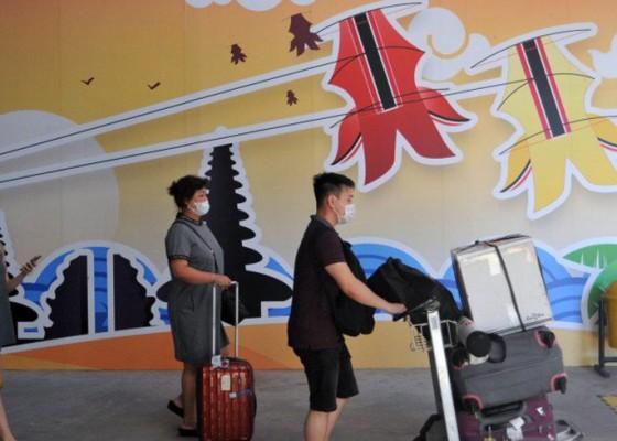 Nusabali.com - posko-terpadu-larangan-mudik-bandara-ngurah-rai-siagakan-1677-personel