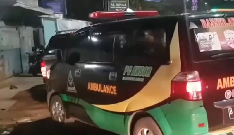 www.nusabali.com-ambulans-dipakai-mudik-dipaksa-putar-balik