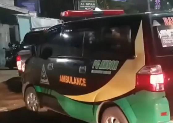 Nusabali.com - ambulans-dipakai-mudik-dipaksa-putar-balik