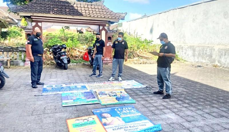 www.nusabali.com-satpol-pp-berangus-puluhan-reklame