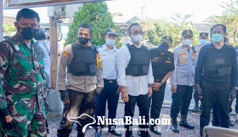 www.nusabali.com-forkopimda-denpasar-badung-kompak-tinjau-pos-sekat-mudik