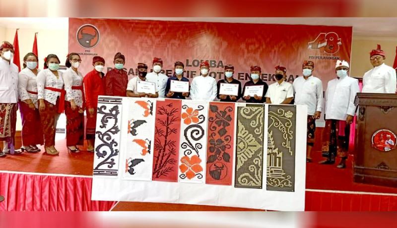 www.nusabali.com-lomba-desain-endek-bali-peserta-tampilkan-berbagai-motif