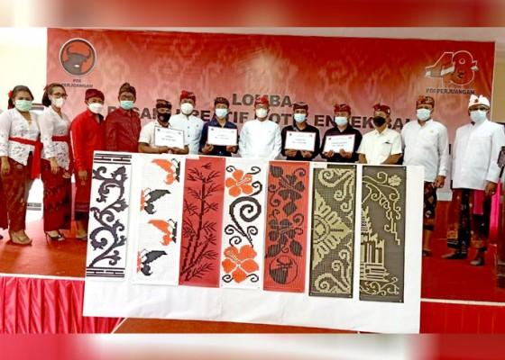 Nusabali.com - lomba-desain-endek-bali-peserta-tampilkan-berbagai-motif