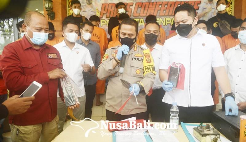 www.nusabali.com-sebulan-jabat-kasat-reskrim-langsung-ungkap-13-kasus