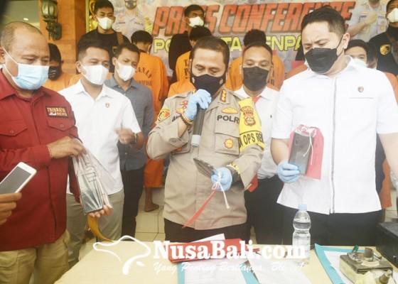 Nusabali.com - sebulan-jabat-kasat-reskrim-langsung-ungkap-13-kasus