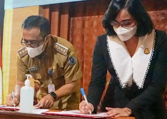 Nusabali.com - pemkot-denpasar-kejari-resmi-kerjasama-bidang-perdata-dan-tun