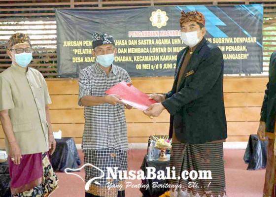 Nusabali.com - uhn-i-gusti-bagus-sugriwa-kerja-sama-dengan-museum-pustaka-lontar