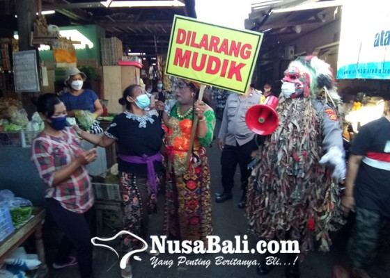 Nusabali.com - celuluk-ingatkan-warga-untuk-tidak-mudik