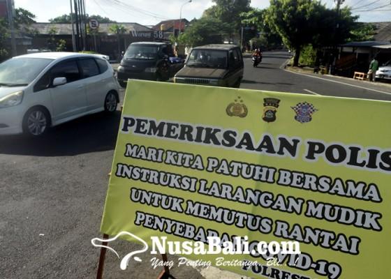 Nusabali.com - antisipasi-arus-balik-pintu-masuk-denpasar-diperketat
