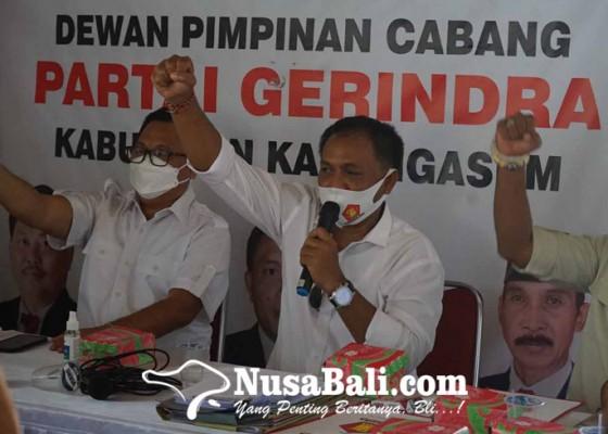 Nusabali.com - gerindra-bali-konsolidasi-di-karangasem