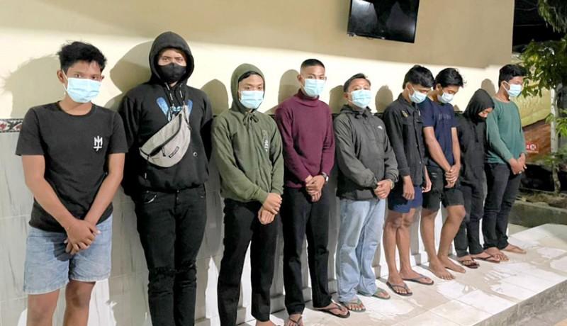 www.nusabali.com-cegah-balap-liar-polsek-sukawati-amankan-9-remaja