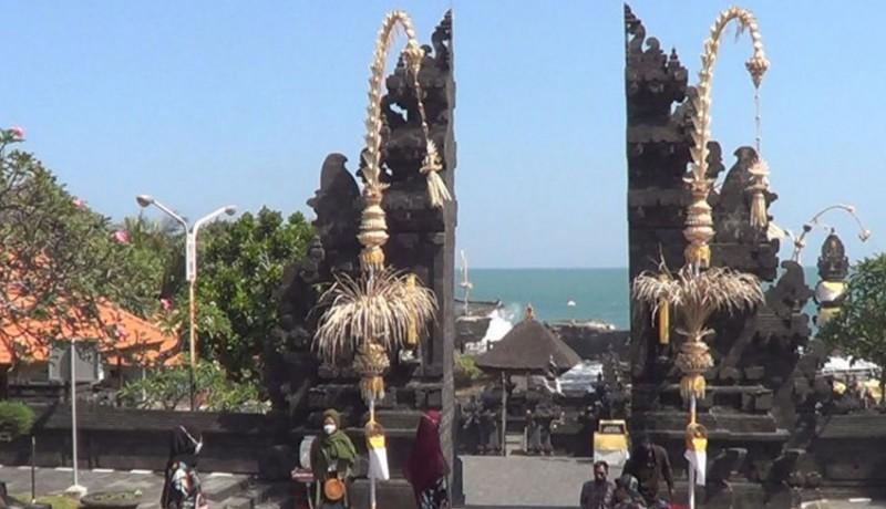 www.nusabali.com-wisatawan-tanah-lot-anjlok-40-persen-selama-larangan-mudik
