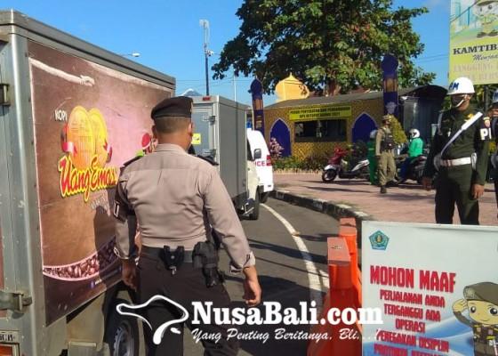 Nusabali.com - polda-bali-putar-balik-sekitar-396-kendaraan