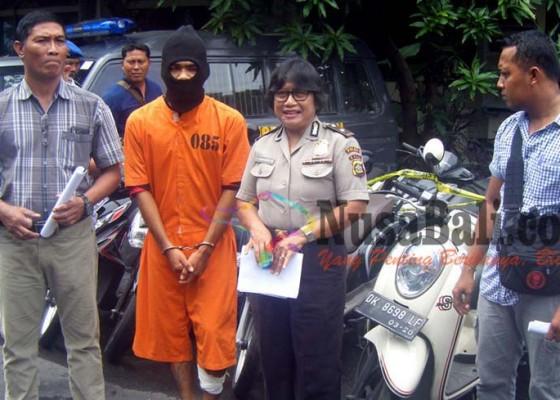 Nusabali.com - pencuri-11-motor-didor-polisi