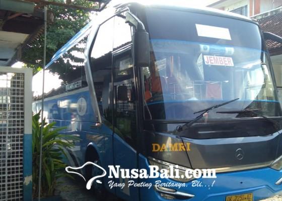 Nusabali.com - larangan-mudik-berakhir-penumpang-bus-masih-sepi