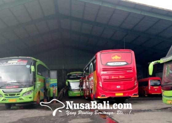 Nusabali.com - penumpang-bus-anjlok-80-persen-gunung-harta-komitmen-tetap-berikan-pelayanan-terbaik