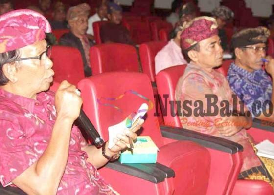 Nusabali.com - bendesa-keberatan-warga-pikun-terdaftar-buta-aksara