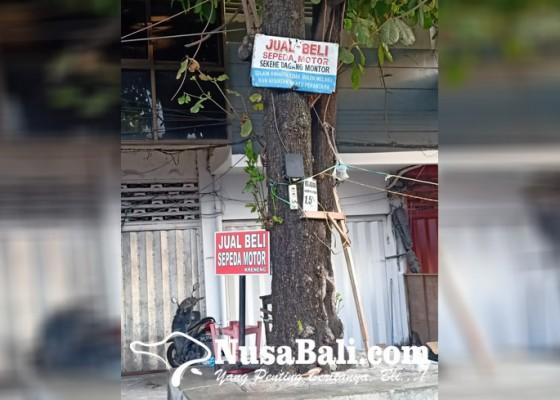 Nusabali.com - lesu-penjualan-motor-bekas-di-kreneng
