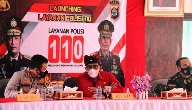 www.nusabali.com-bupati-sanjaya-apresiasi-layanan-polisi-110-di-tabanan