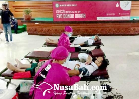 Nusabali.com - bank-bpd-bali-lakukan-donor-darah