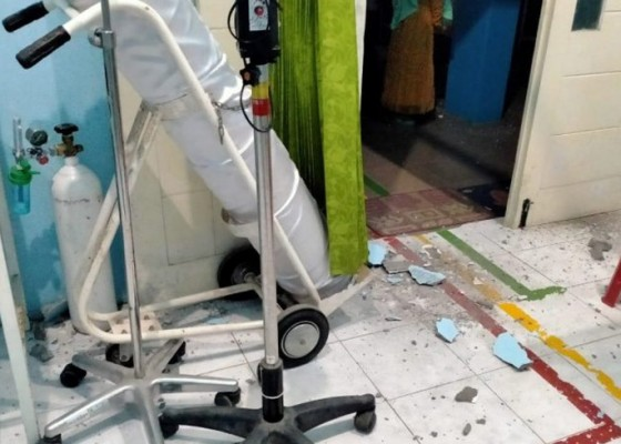 Nusabali.com - sejumlah-bangunan-di-blitar-rusak-akibat-gempa-magnitudo-62
