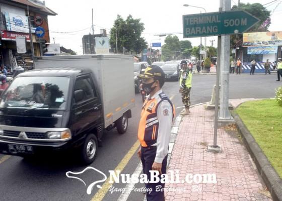 Nusabali.com - pengetatan-arus-balik-lebaran-masuk-denpasar-diperpanjang