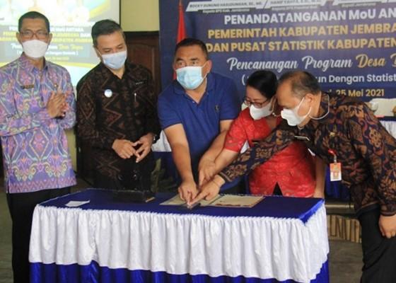 Nusabali.com - gandeng-bps-jembrana-canangkan-program-desa-bagus