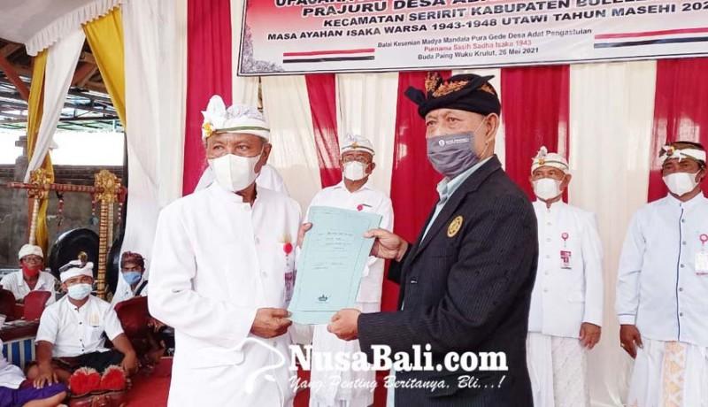 www.nusabali.com-meski-ada-penolakan-pengukuhan-bendesa-adat-pengastulan-tetap-dilakukan