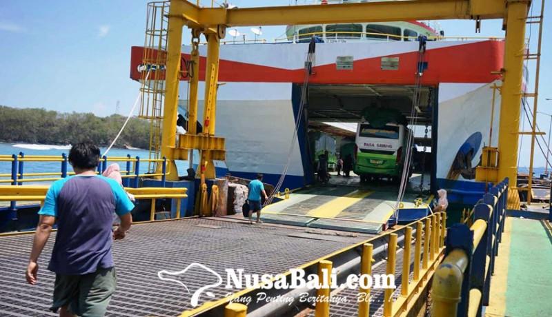 www.nusabali.com-lima-kapal-masuk-dok-padangbai-sepi-penumpang