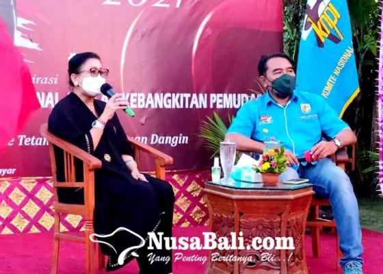Nusabali.com - sambut-bulan-bung-karno-knpi-bali-gelar-rembug-pemuda