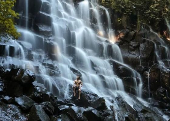 Nusabali.com - satu-satunya-air-terjun-berundak-di-gianyar-kato-lampo-suguhkan-wisata-air-terjun-yang-berbeda