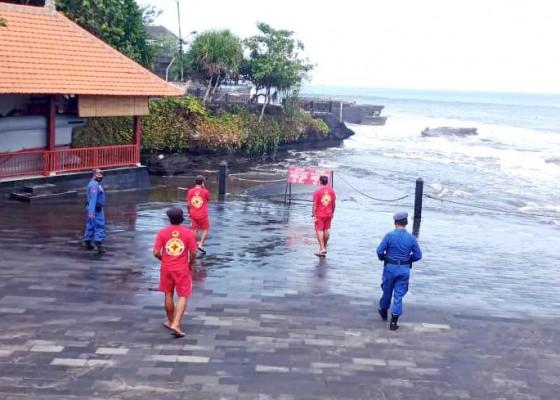 Nusabali.com - gelombang-tinggi-satpolair-ingatkan-nelayan-waspada