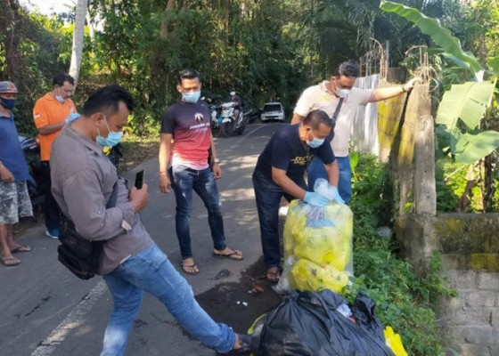 Nusabali.com - polres-gianyar-cari-pelaku-pembuang-35-kilogram-limbah-medis