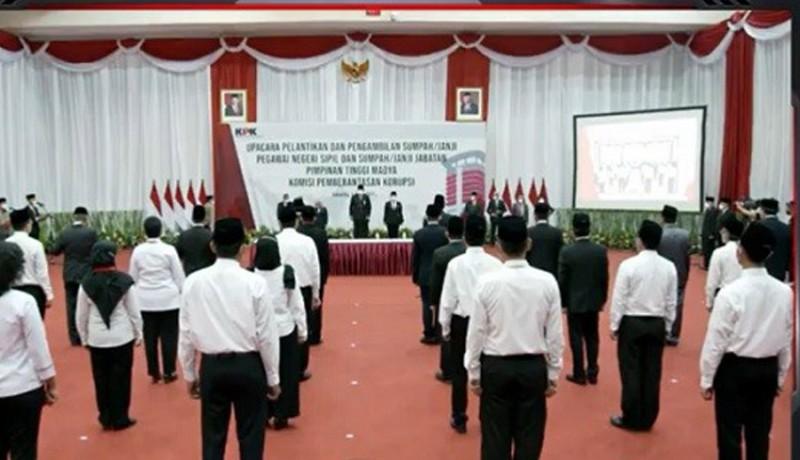 www.nusabali.com-begini-isi-sumpah-pegawai-kpk-yang-dilantik-jadi-pns