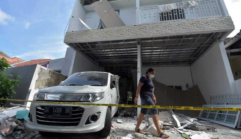 www.nusabali.com-tabung-lpg-meledak-bangunan-rumah-hancur