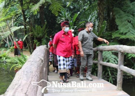 Nusabali.com - bupati-sanjaya-buka-kebun-binatang-pertama-di-tabanan