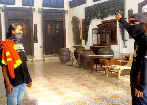 Nusabali.com - api-las-merembet-bangunan-museum-terbakar