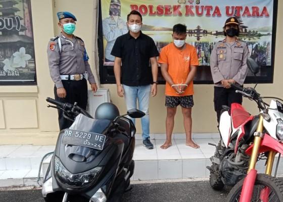 Nusabali.com - nyuri-motor-bule-mahasiswa-diringkus