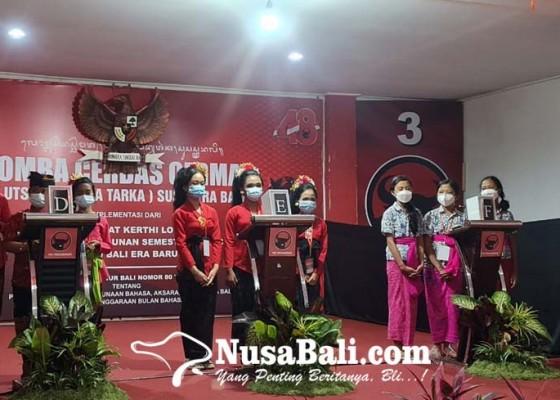 Nusabali.com - dpc-pdip-se-bali-gelar-cerdas-cermat-bahasa-bali