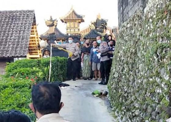 Nusabali.com - polisi-tunggu-hasil-visum-mayat-bayi-tanpa-tangan