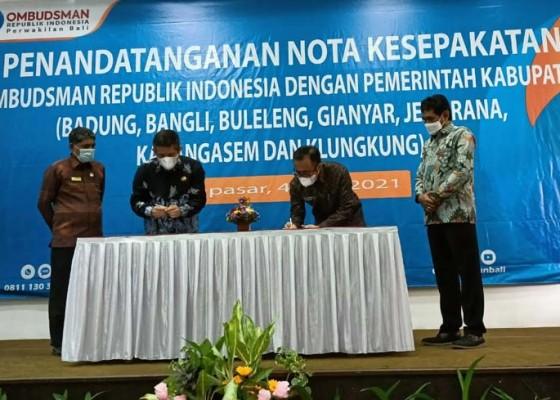 Nusabali.com - tingkatkan-kualitas-layanan-publik-walikota-dan-ombudsman-ri-tandatangani-nota-kesepakatan