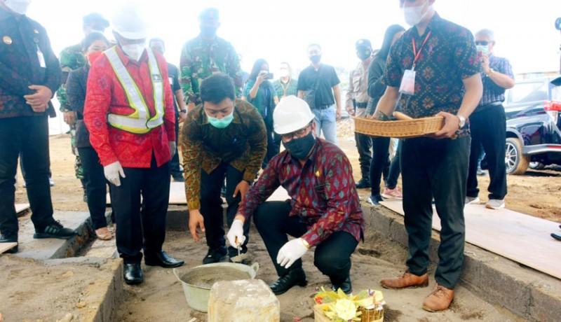 www.nusabali.com-wagub-cok-ace-letakkan-batu-pertama-pembangunan-gedung-universitas-terbuka