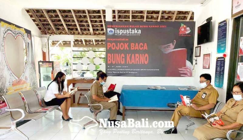 www.nusabali.com-dinas-perpustakaan-gelar-lomba-melukis-bung-karno