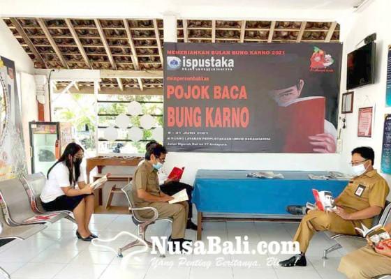 Nusabali.com - dinas-perpustakaan-gelar-lomba-melukis-bung-karno