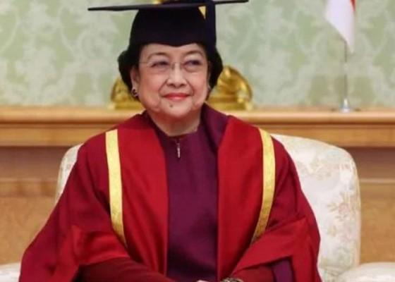 Nusabali.com - megawati-dianugerahi-gelar-profesor-kehormatan