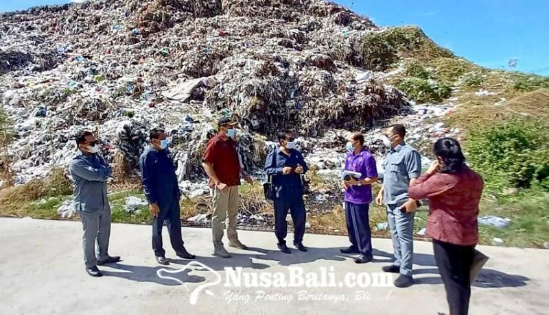 www.nusabali.com-komisi-iii-dprd-jembrana-sidak-kesiapan-relokasi-sampah-tpa-peh