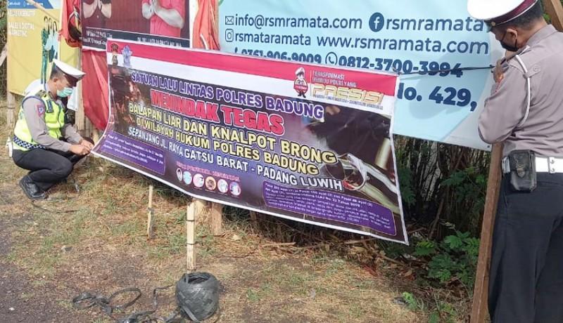 www.nusabali.com-polres-badung-ancam-tindak-tegas-pelaku-balap-liar